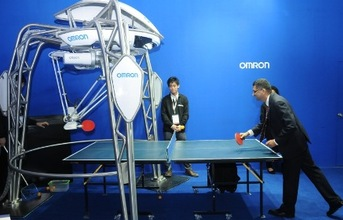 omron-automation-forpheus-table-tennis-robot